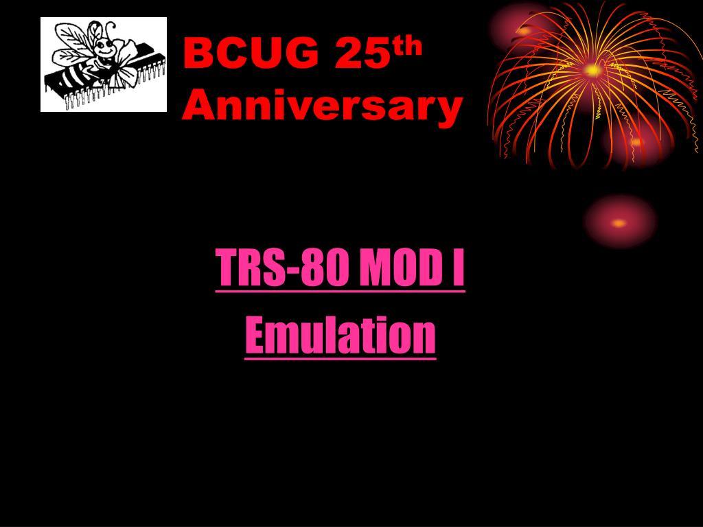 BCUG 25