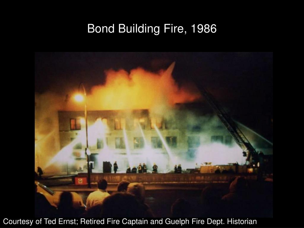 Bond Building Fire, 1986