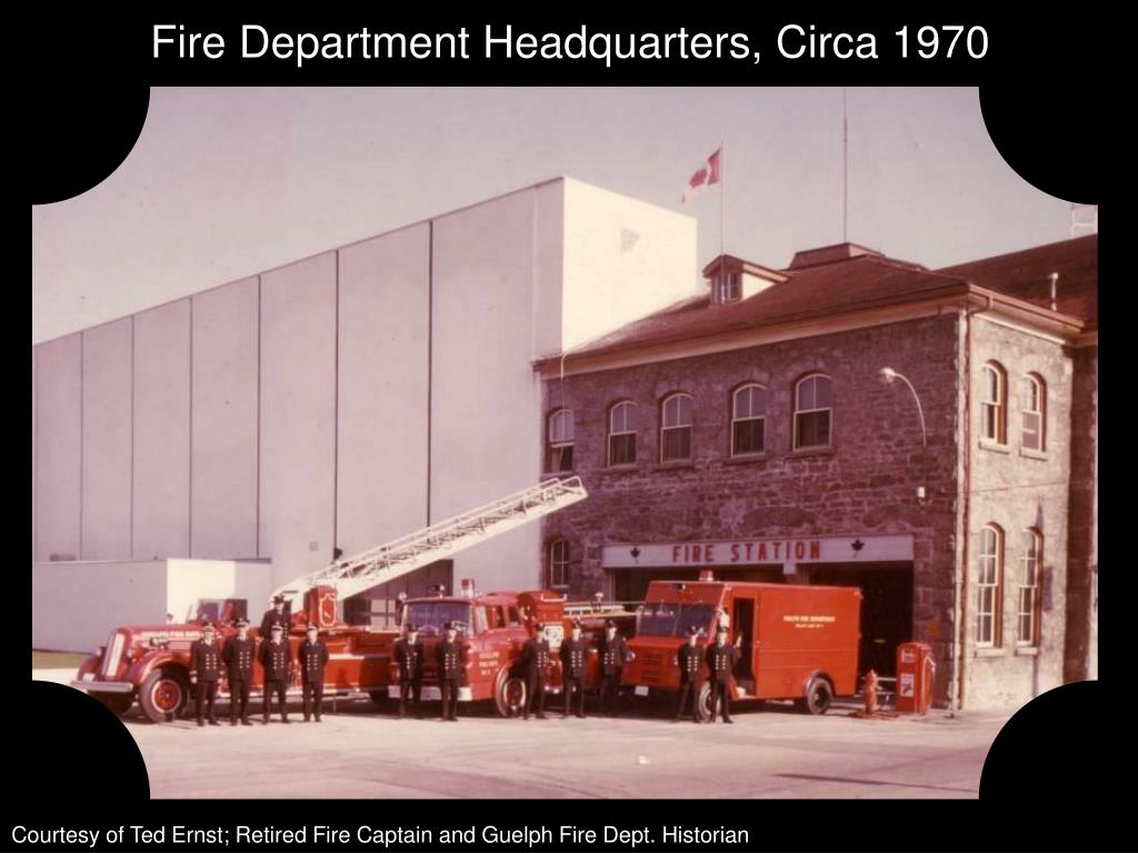 Fire Department Headquarters, Circa 1970