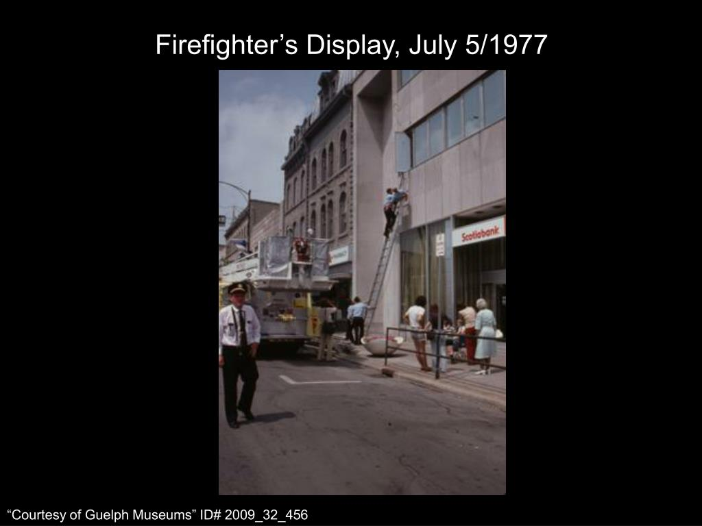 Firefighter's Display, July 5/1977