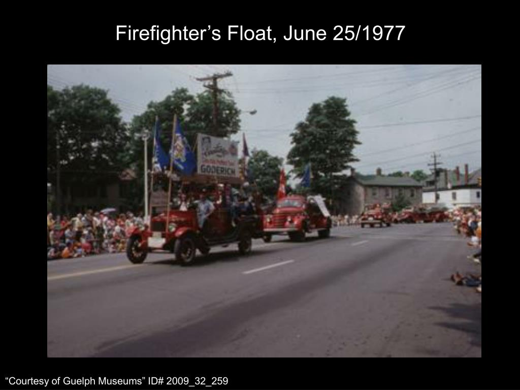 Firefighter's Float, June 25/1977