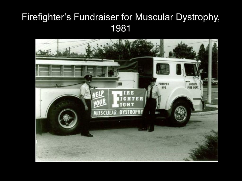 Firefighter's Fundraiser for Muscular Dystrophy, 1981