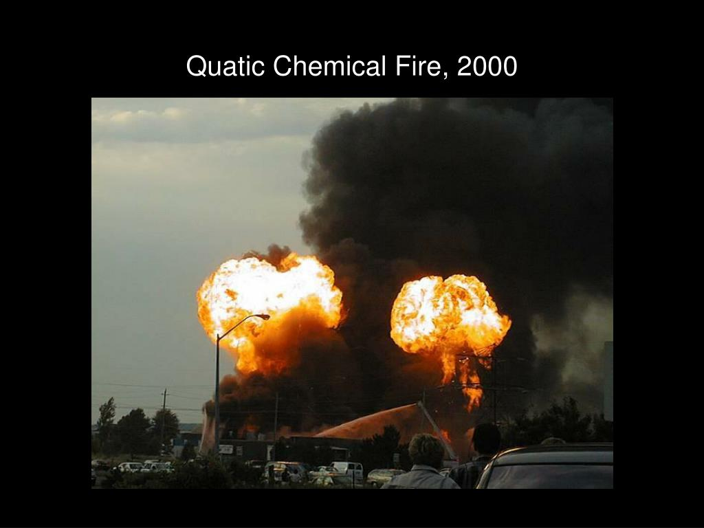 Quatic Chemical Fire, 2000