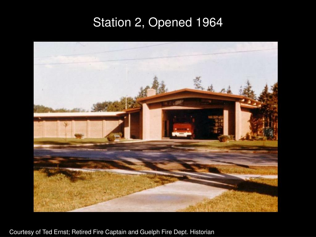 Station 2, Opened 1964