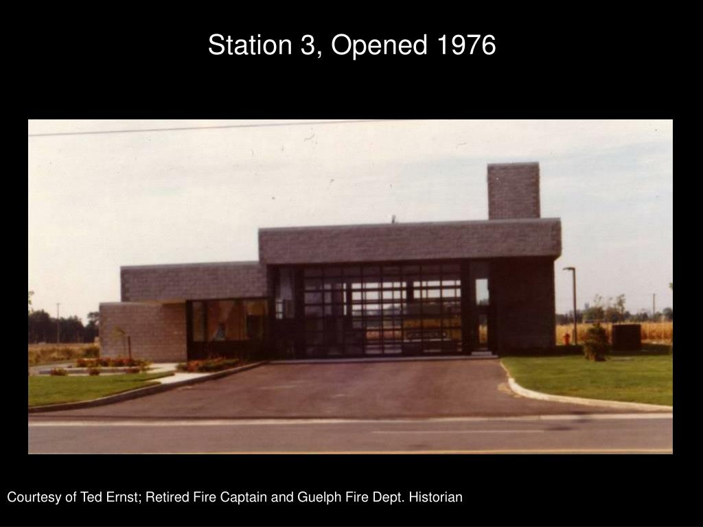 Station 3, Opened 1976