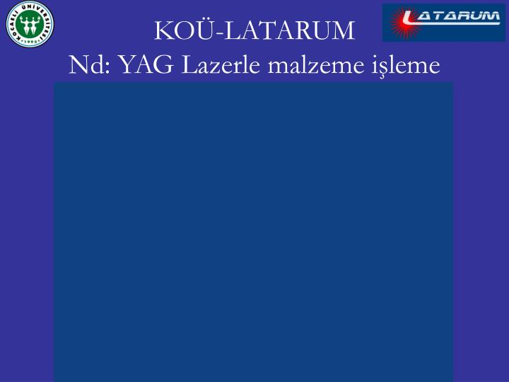 KOÜ-LATARUM