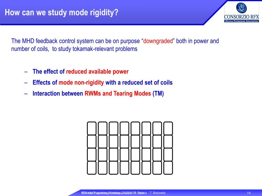 How can we study mode rigidity?