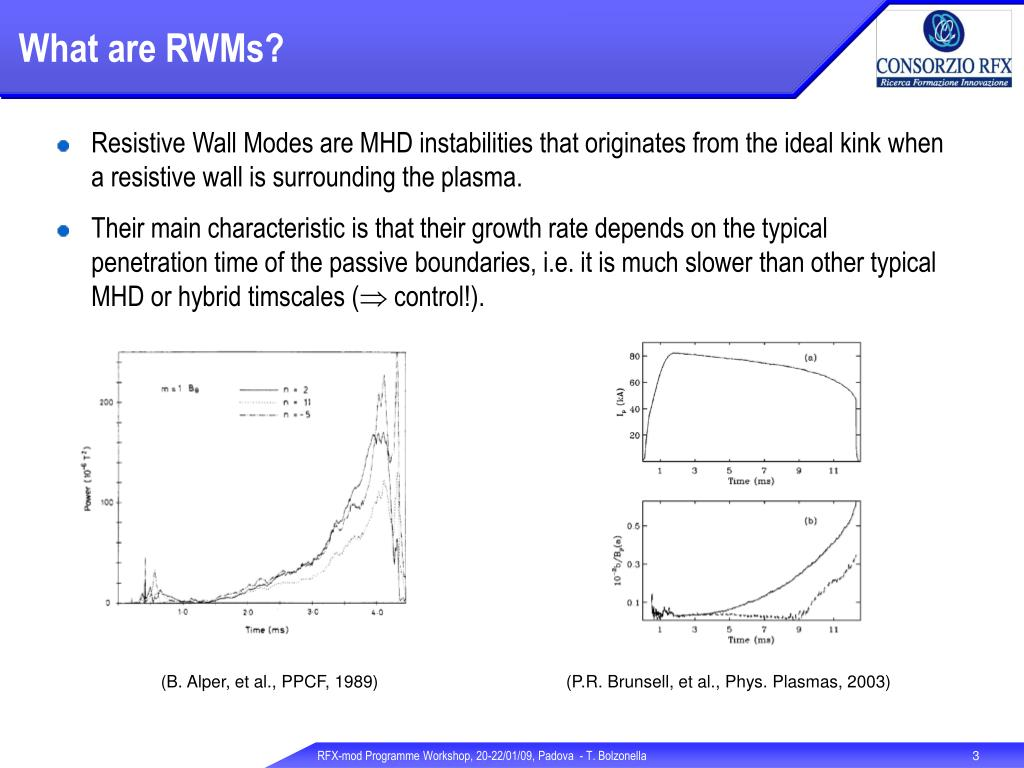 What are RWMs?