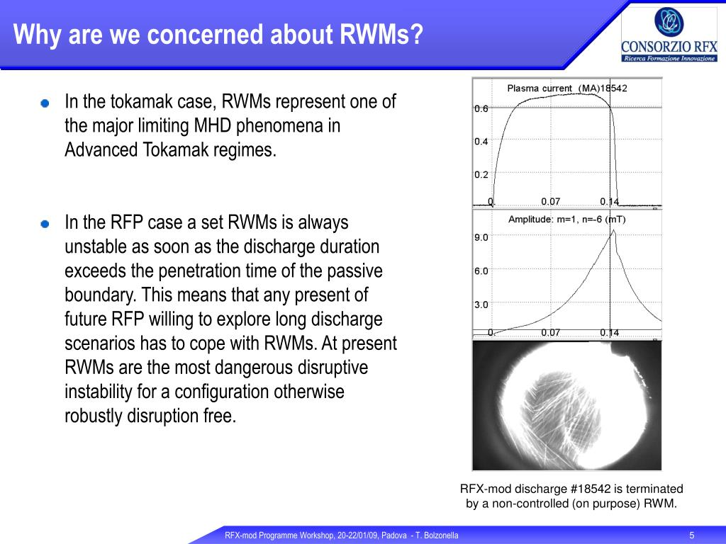 Why are we concerned about RWMs?