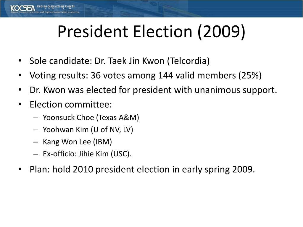 President Election (2009)