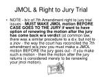 jmol right to jury trial