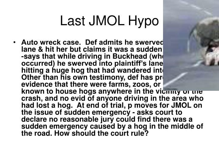 Last JMOL Hypo