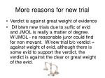 more reasons for new trial