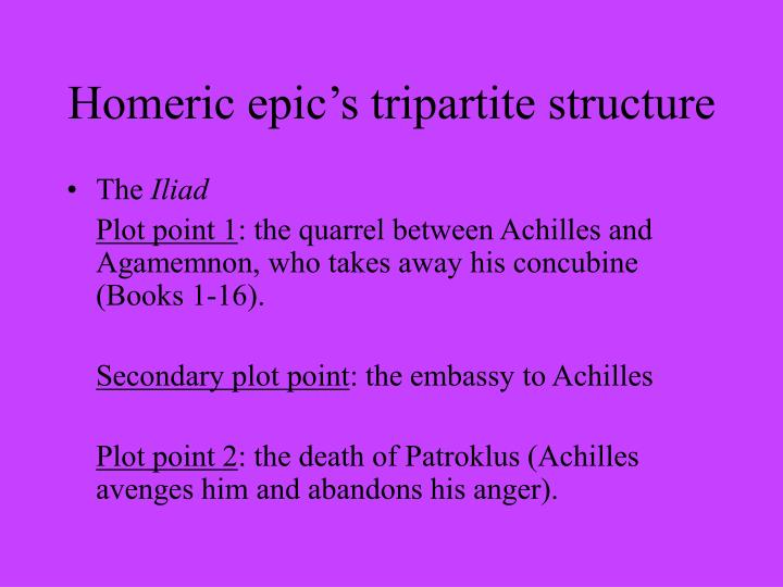 a comparison between agamemnon and achilles in the epic the iliad Furthermore, even when we accept as traditional the theme of a quarrel between achilles and odysseus, we must keep in mind that the quarrel between achilles and agamemnon in iliad i is in all likelihood an equally traditional theme.