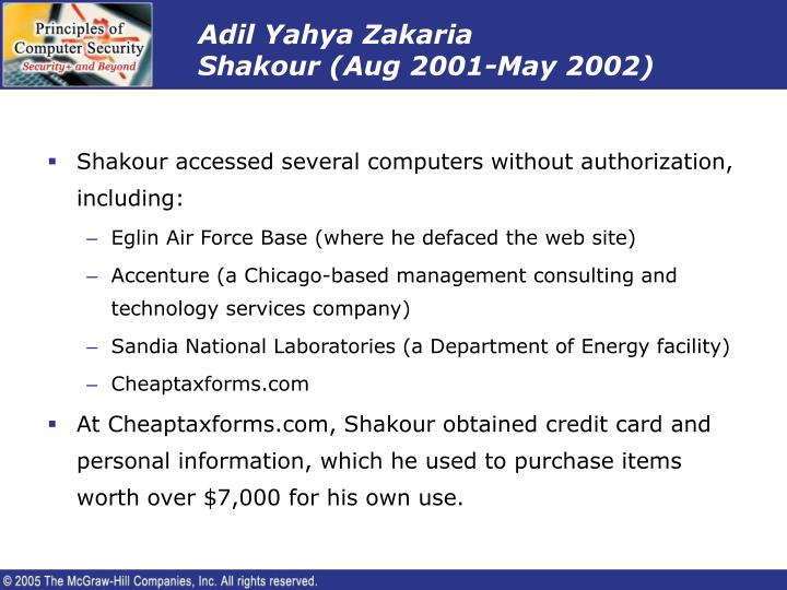 Adil Yahya Zakaria