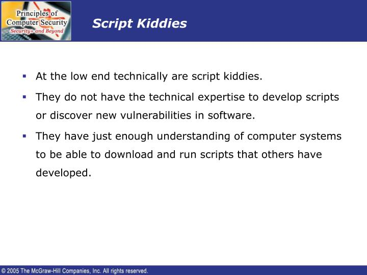 Script Kiddies