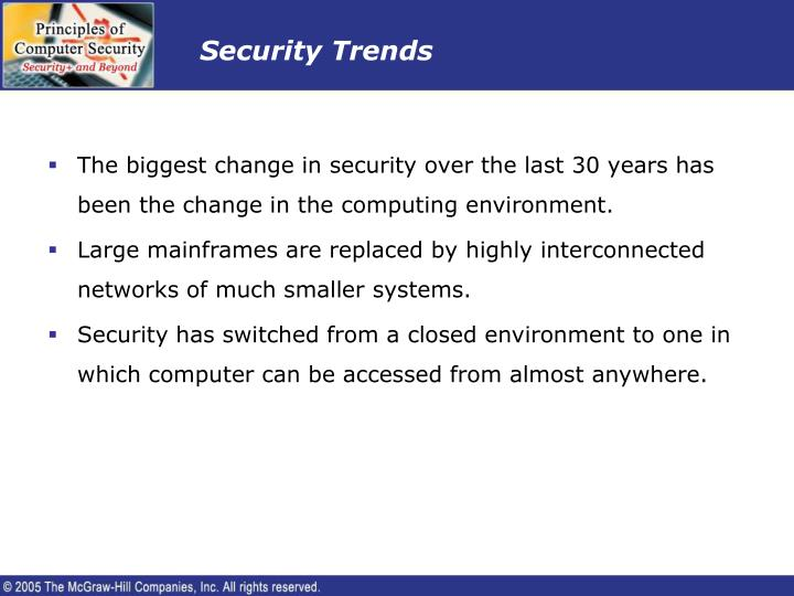 Security Trends