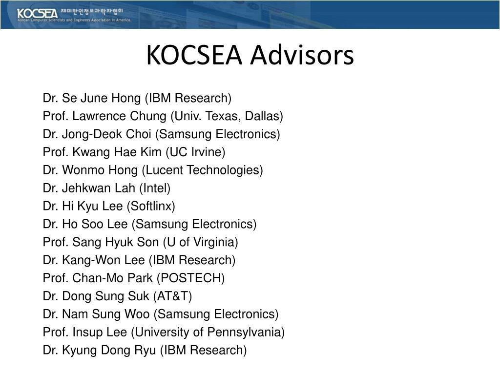 KOCSEA Advisors