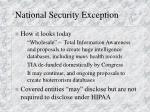 national security exception2