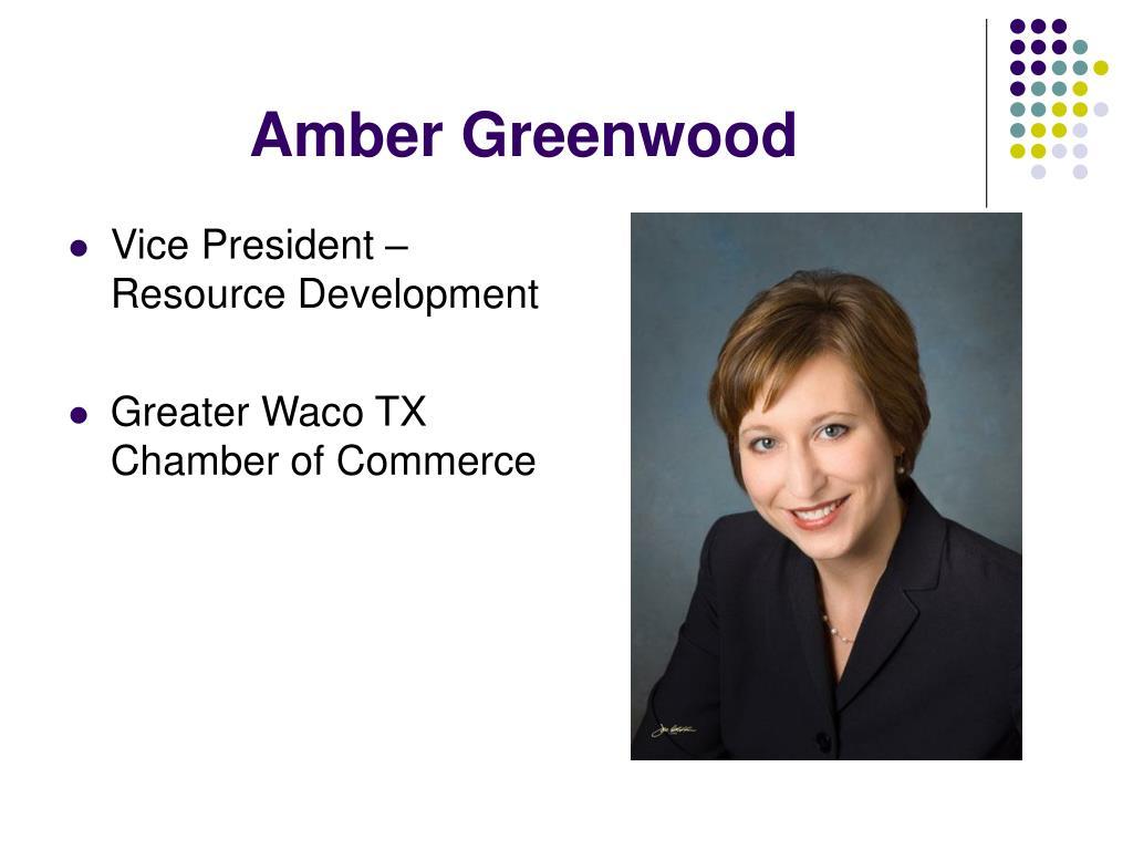 Amber Greenwood