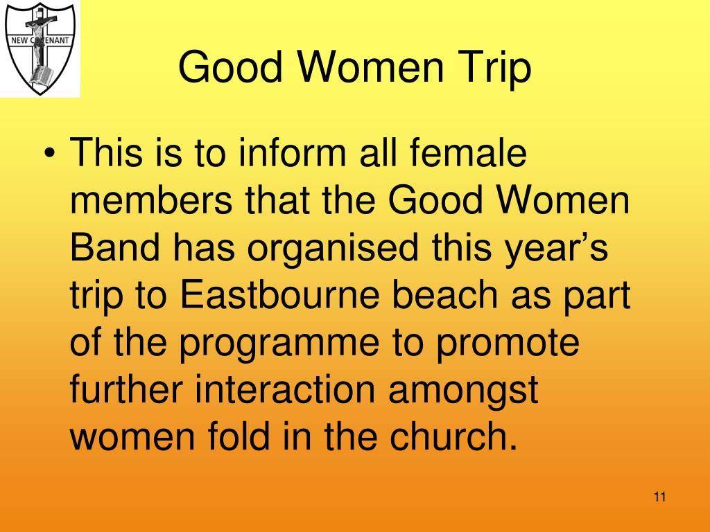 Good Women Trip