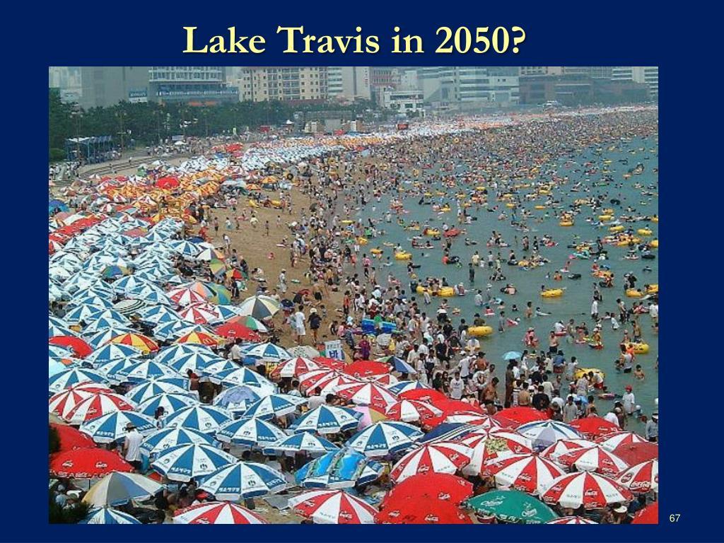 Lake Travis in