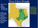 texas urban triangle