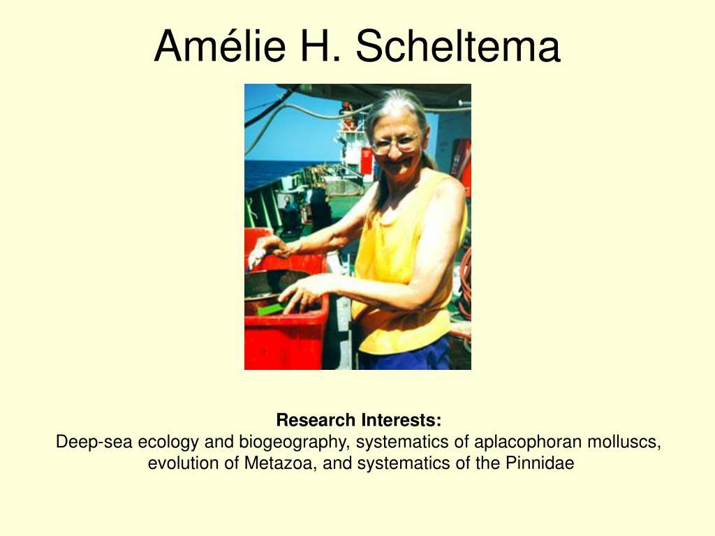 Amlie H. Scheltema