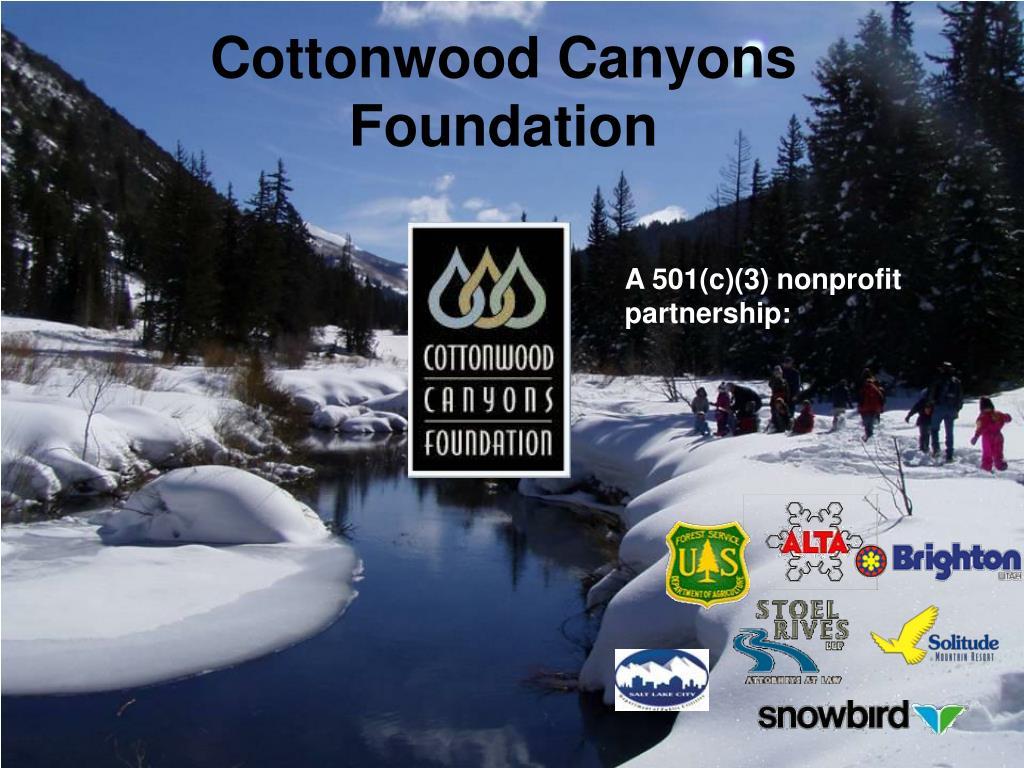 Cottonwood Canyons Foundation