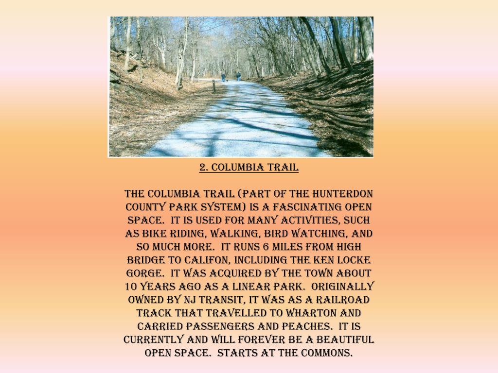 2. Columbia Trail