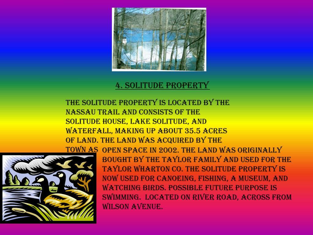 4. Solitude Property