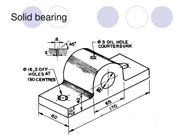 Solid bearing