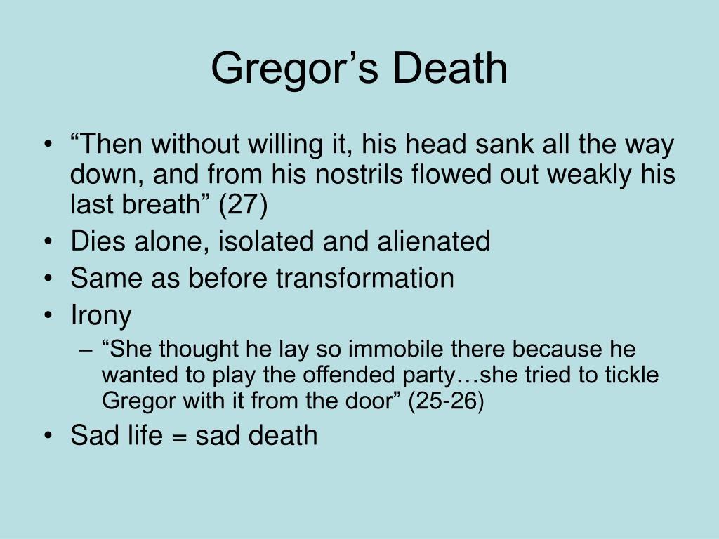 Gregor's Death