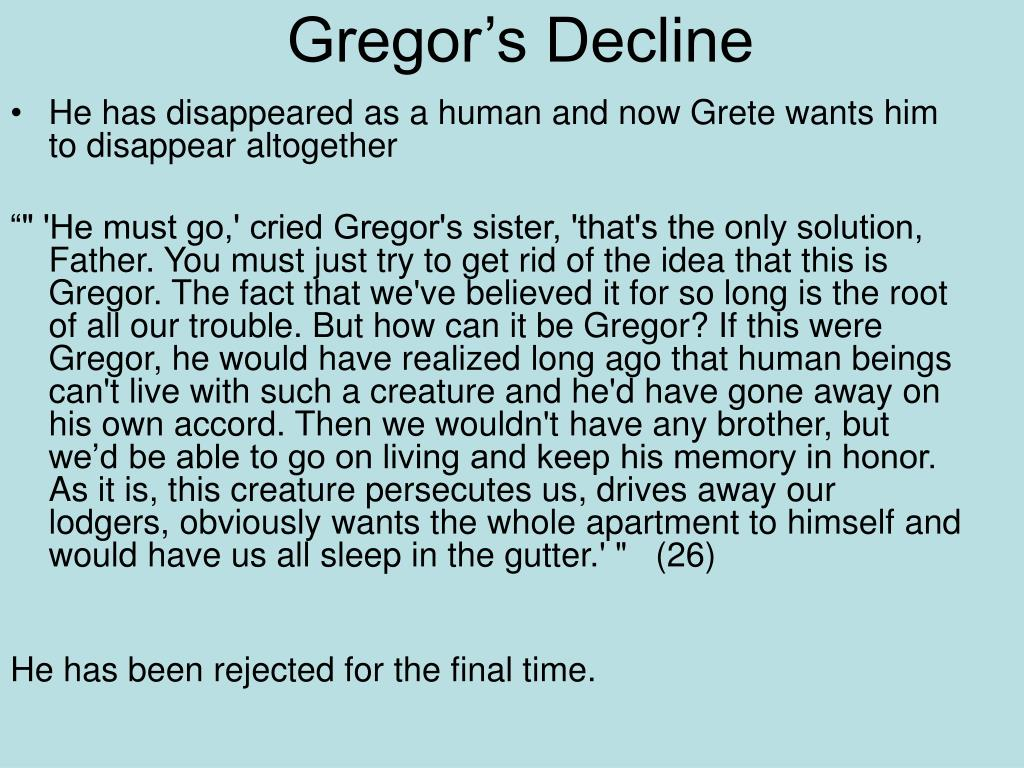 Gregor's Decline