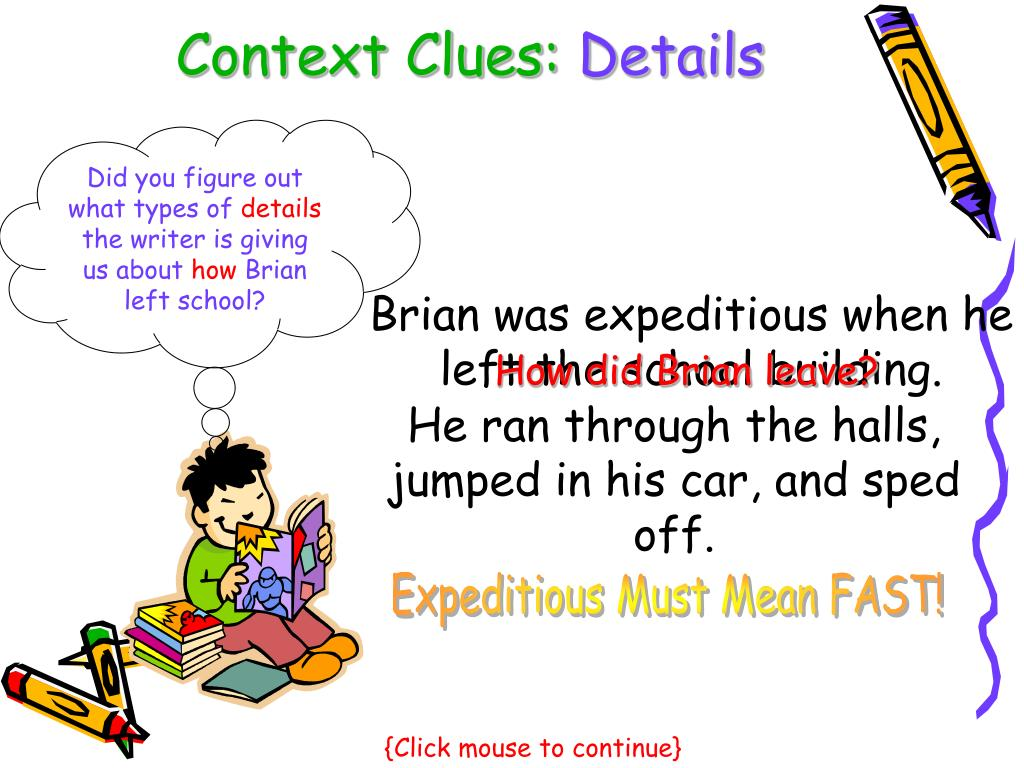 Context Clues: