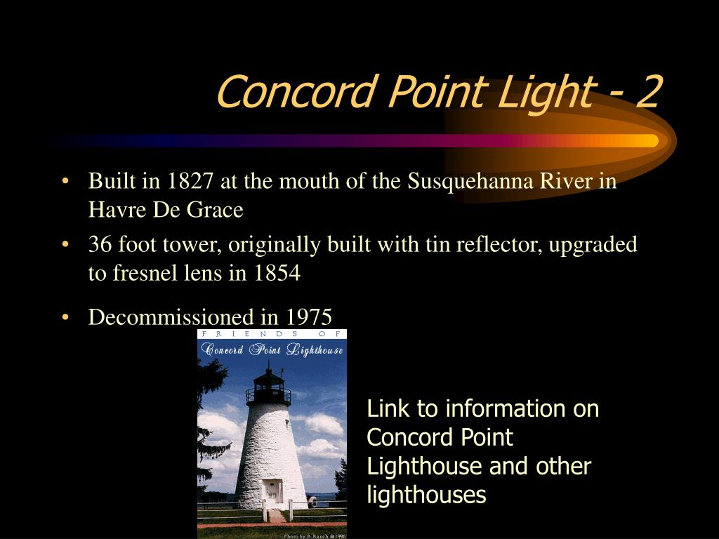 Concord Point Light - 2