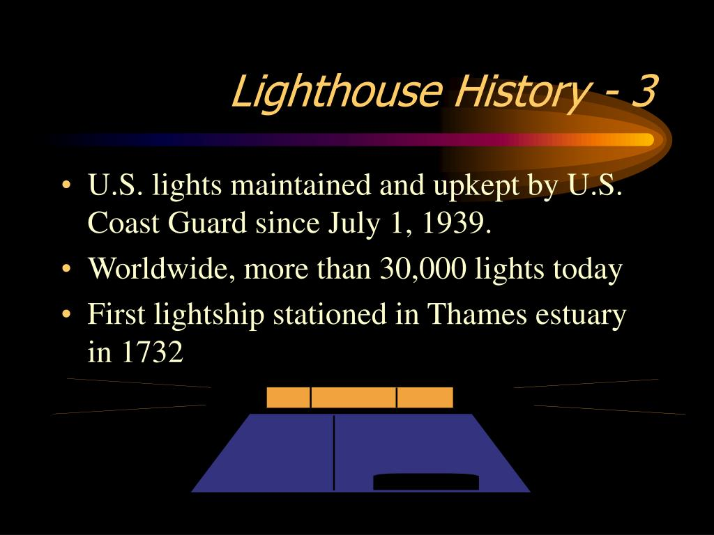 Lighthouse History - 3