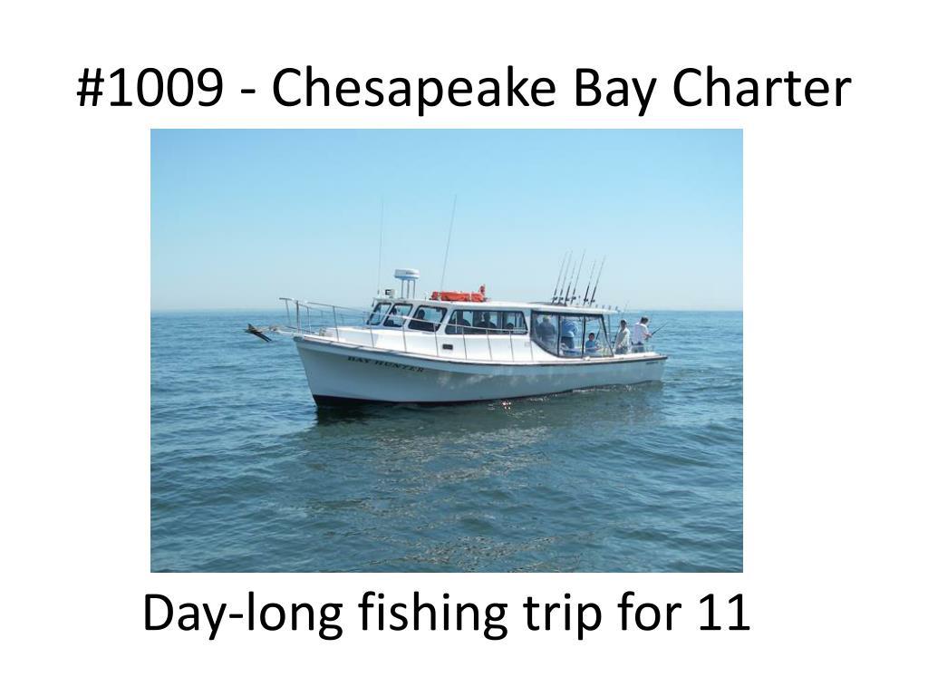 #1009 - Chesapeake Bay Charter