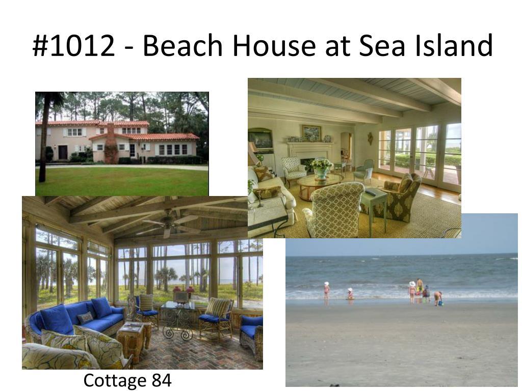 #1012 - Beach House at Sea Island