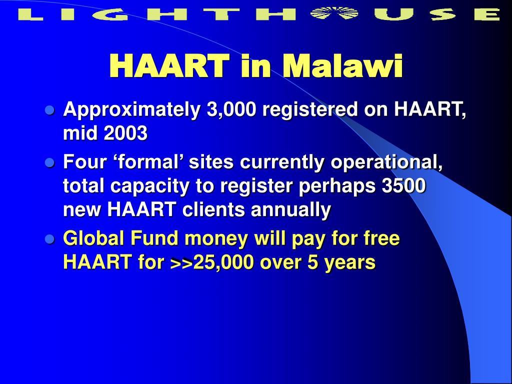HAART in Malawi