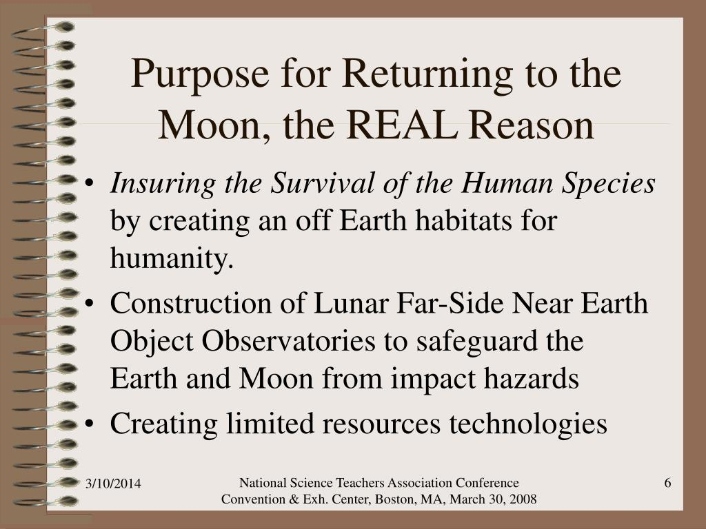 Purpose for Returning to the Moon, the REAL Reason
