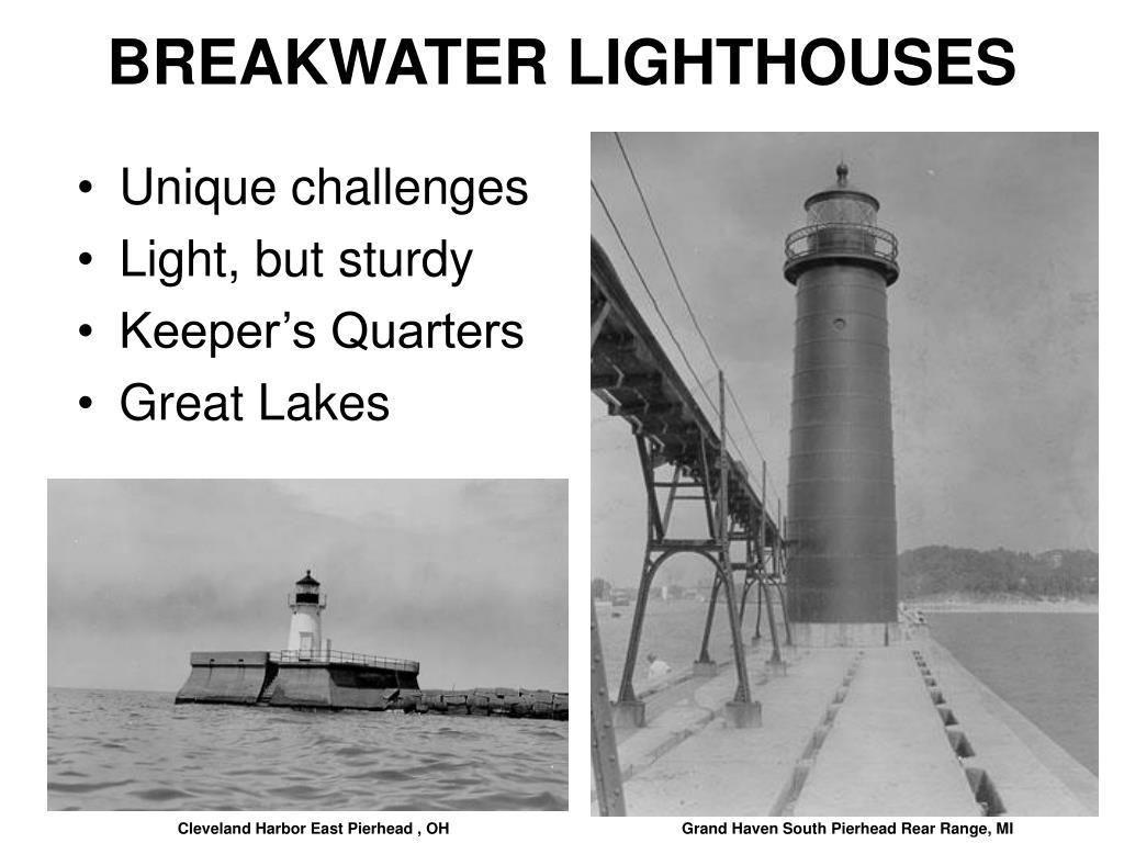 BREAKWATER LIGHTHOUSES
