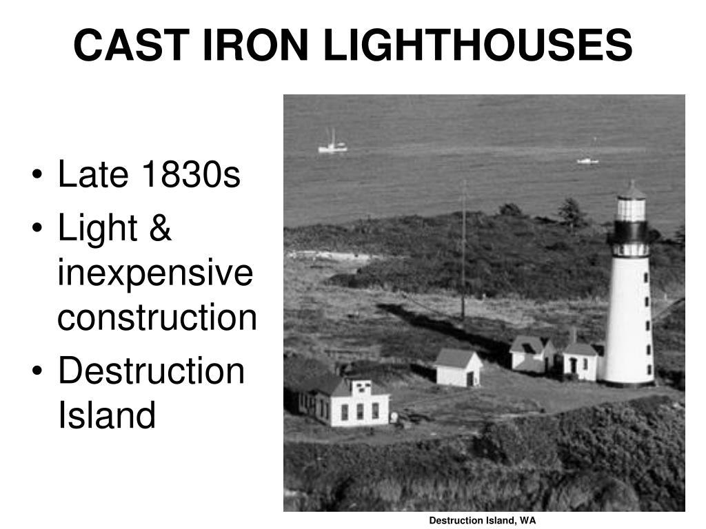 CAST IRON LIGHTHOUSES