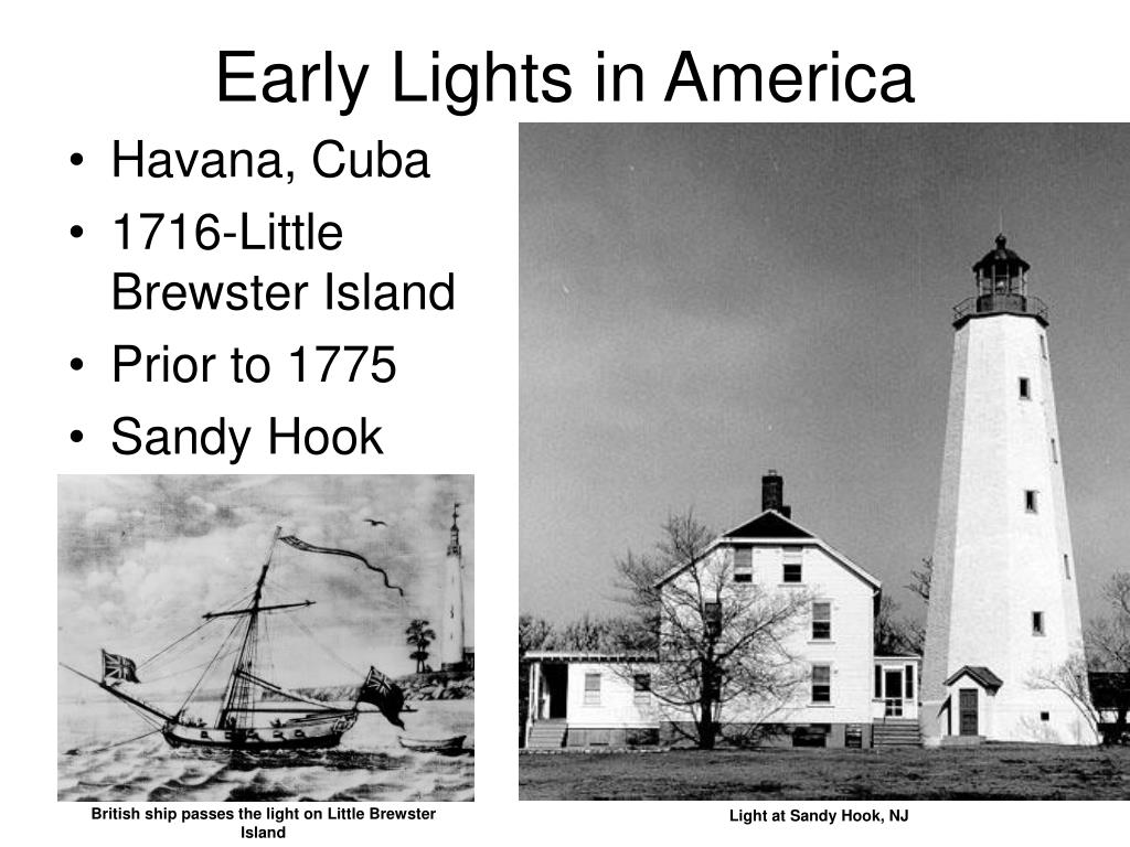 Early Lights in America