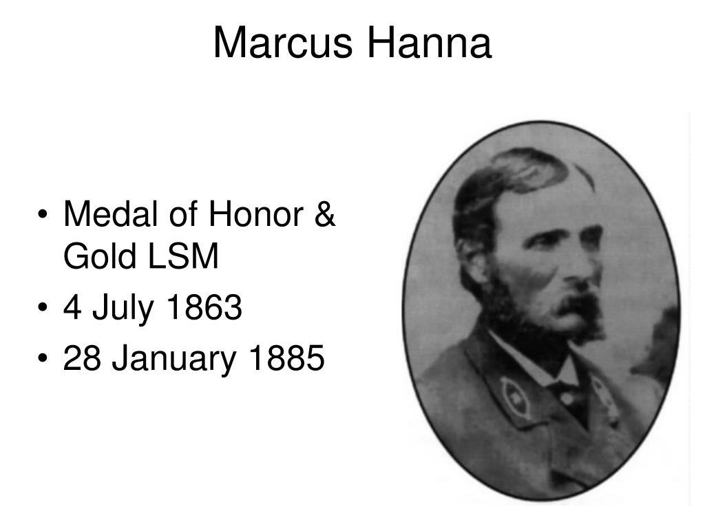 Marcus Hanna