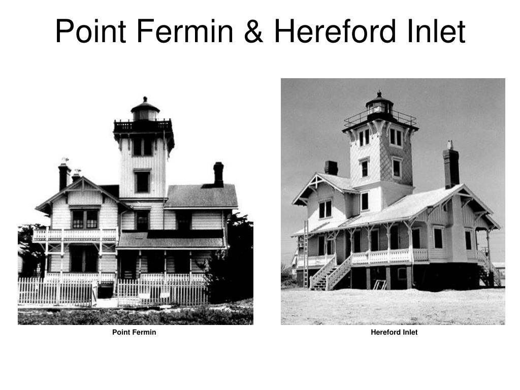 Point Fermin & Hereford Inlet