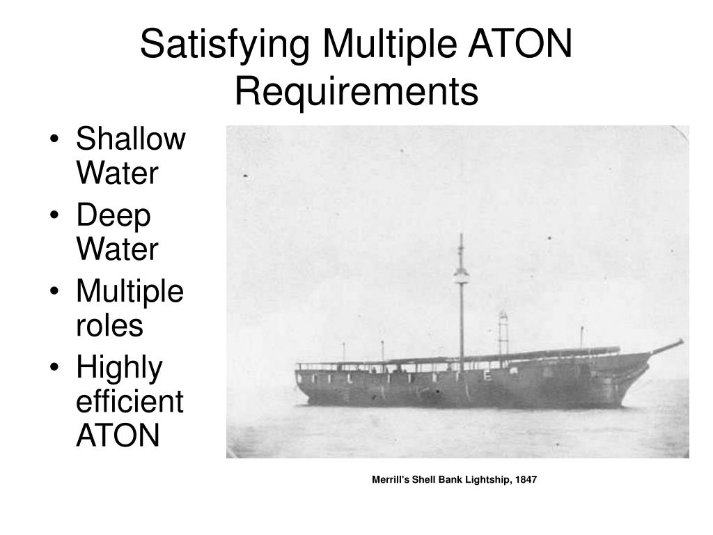 Satisfying Multiple ATON Requirements