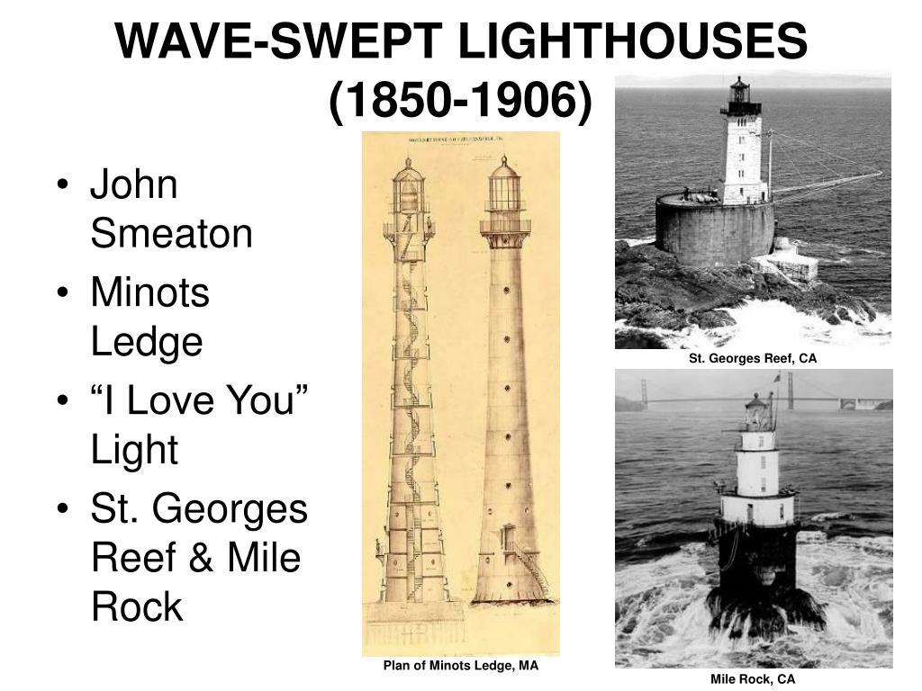 WAVE-SWEPT LIGHTHOUSES