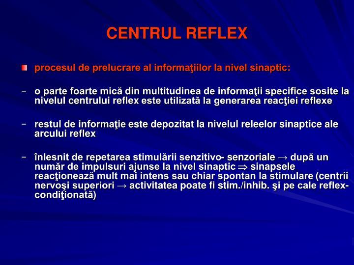 CENTRUL REFLEX