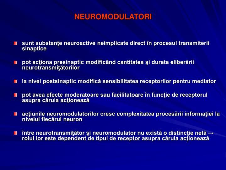 NEUROMODULATORI